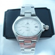 Ladies Stainless Steel Date Quartz Watch Royal London